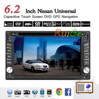 GPS Navigation 6 2 Inch Double 2 DIN Android Car Stereo Radio DVD Player LCD Monitor