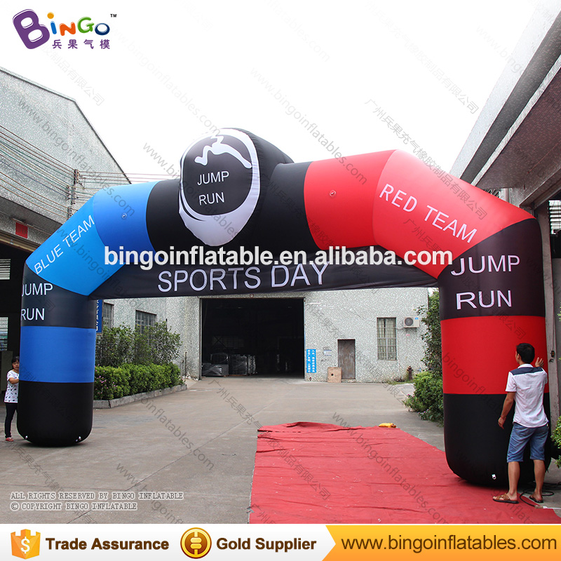 Customized 8x4 meters inflatable event arch- toyCustomized 8x4 meters inflatable event arch- toy