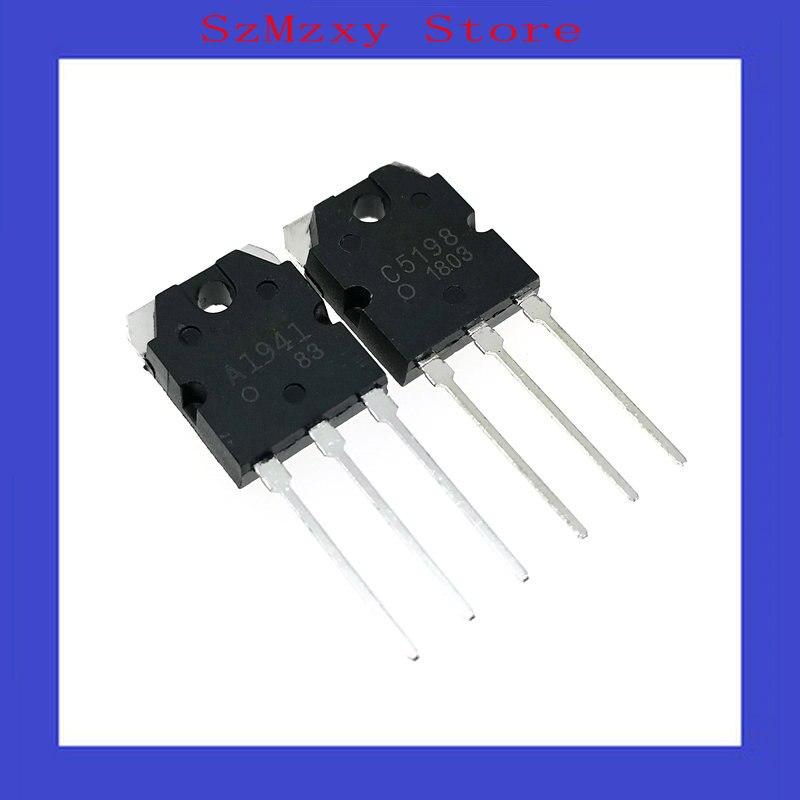 A1941 /& 2SC5198 Transistor:Power C5198 1 pair 2SA1941 1 each