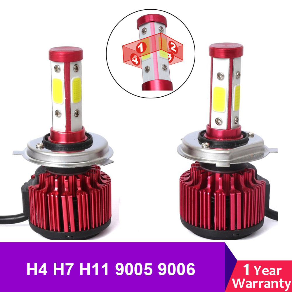 1 Pair 5202 H16 Hid Led Bulb Kit Cree Chip 30w Car Fog Head Light Auto Vehicles Driving Led Lights 12v Super Bright White Save 50-70% Car Headlight Bulbs(led)