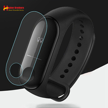 Scratch-proof Anti-drop Explosion-proof Membrane for Xiaomi Mi Band 3 Wristband Bracelet Full Cover Glass Screen Protector Film