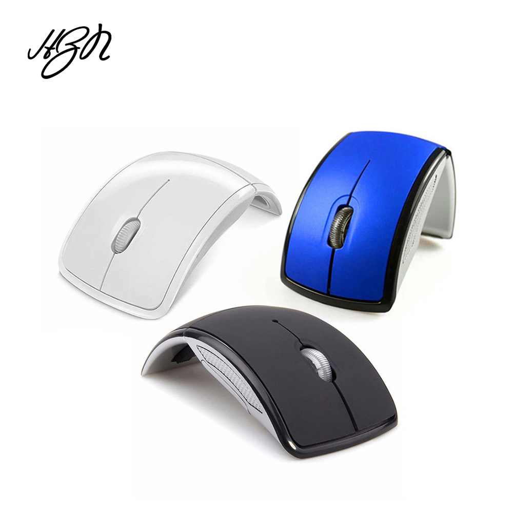 2.4g Wireless Mouse Ergonomic Optical Mice 1200dpi Folding Mouse With Usb Receiver Mouse For Laptop Pc Notebook Street Price