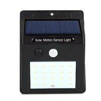 LED Solar Power PIR Motion Sensor Wall Light 20 LED Outdoor Waterproof Energy Saving Street Yard