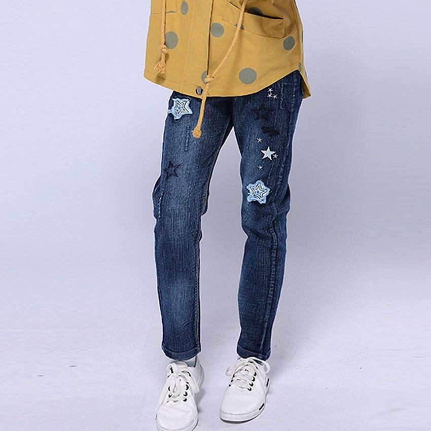 320b2c4845cc5c Bambini Jeans Strappati Per I Vestiti Delle Ragazze Paillettes ...