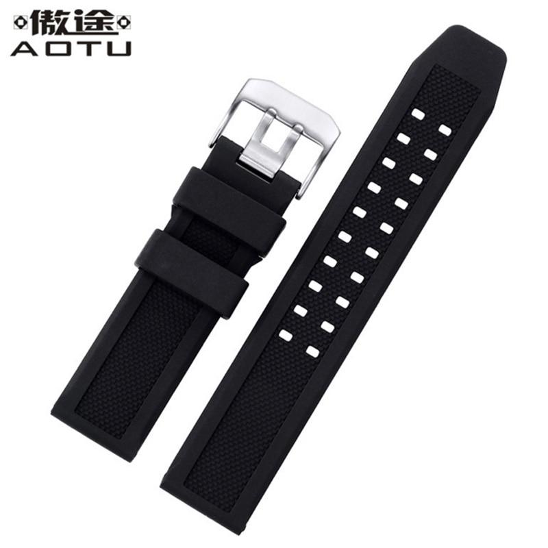 где купить Silicone Watchbands For Luminox 1820|7251|3050|3051 Watches Band Men 23mm Top Quality Watch Straps Soft Male Clock Strap Belt по лучшей цене
