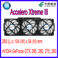 ARCTIC Accelero Xtreme III VGA Cooler 3 Quiet 92mm PWM Fans Replacement NVidia AMD GTX 285