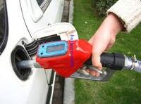 New Fuel Gasoline Diesel Petrol Oil Delivery Gun Nozzle Dispenser With Flow Meter