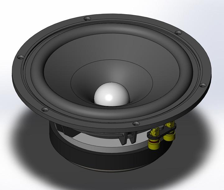 H-029 Top full-range speakers 8 inch really full-range speaker 96dB have bass match Single-ended Class A tube amplifier speaker h 004 queenway f6 floor standing full range speaker 1 way 1 unit hifi 6 5 inch vacuum tube amplifier 95db 8 ohms speaker