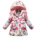 Jacket Specials Age 1-4Y Girls's Winter Coats Long Thick Warm Down Teenage Winter Jacket For Children 2016 Free Shippping AP1518