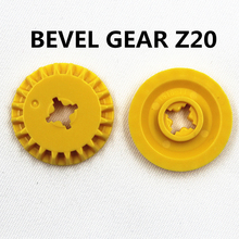 Self-Locking Bricks free creation of toy Technic BEVEL GEAR Z20 20Pcs compatible with Lego 6031962