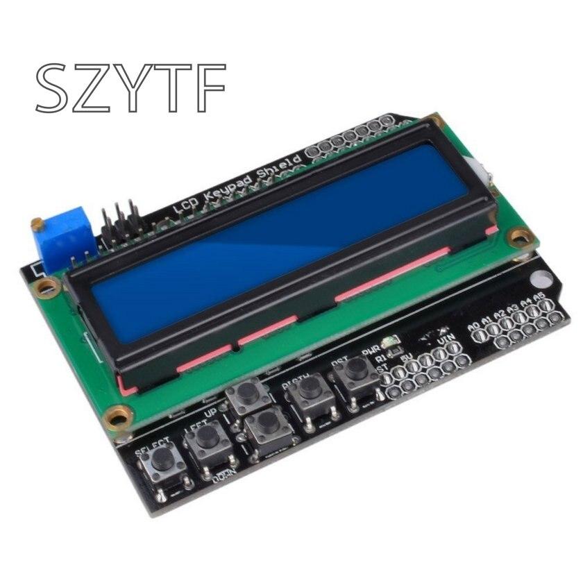 LCD1602 cartes d'extension entrée/sortie de caractère écran LCD clavier LCD