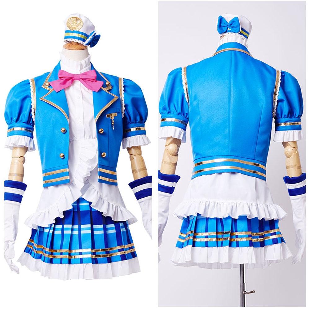Love Live Sunshine Cosplay Nine Characters Aqours Kurosawa Ruby Top Anime Halloween Party Cosplay Costumes For Women Custom Made