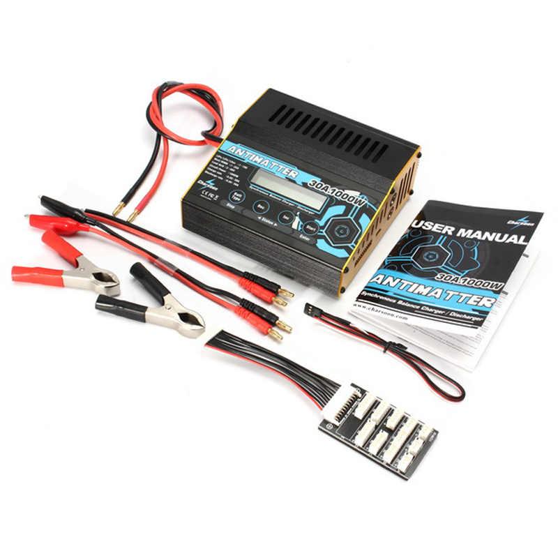 Оригинальный Charsoon Antimatter 1000 Вт 30A баланс зарядное устройство Dis для LiPo/LiFe/NiCd/батарея PB