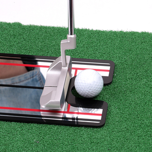 Image 3 - 2019 חדש גולף עזרי הדרכה גולף Swing עיסוק גולף לשים מראה יישור נדנדה מאמן קו העין גולף אבזרים