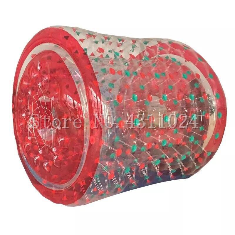 Livraison gratuite 2.4 m grands rouleaux gonflables de boule de l'eau de Zorbs, jouets de boule de marche de l'eau pour la piscine, boule de l'eau