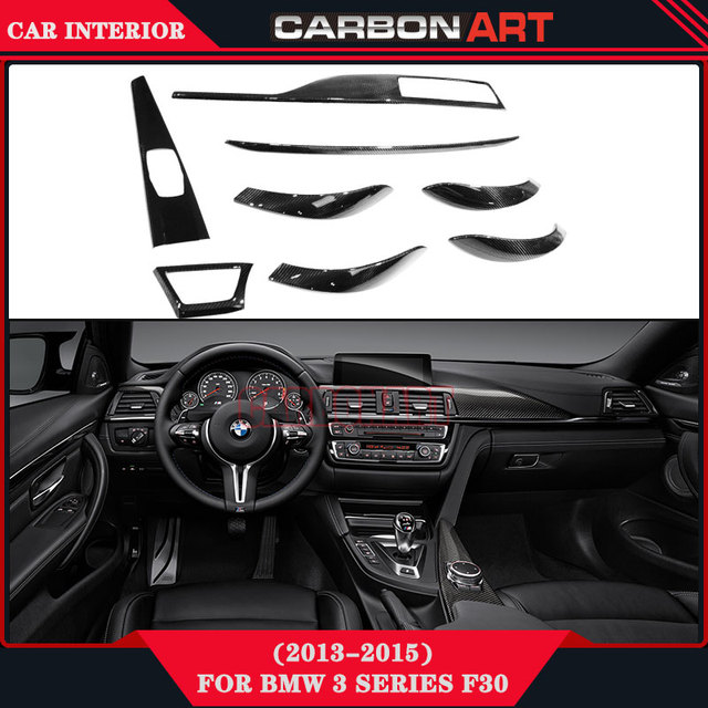 For Bmw 3 Series F30 Custom Car Interior Decoration F35 Carbon Auto Interior Design Online 335i