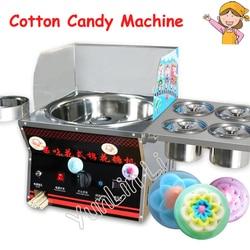 Commercial DIY Cotton Candy Machine Gas Cotton Sugar Fancy Floss Maker Machine Snack Equipment Flower
