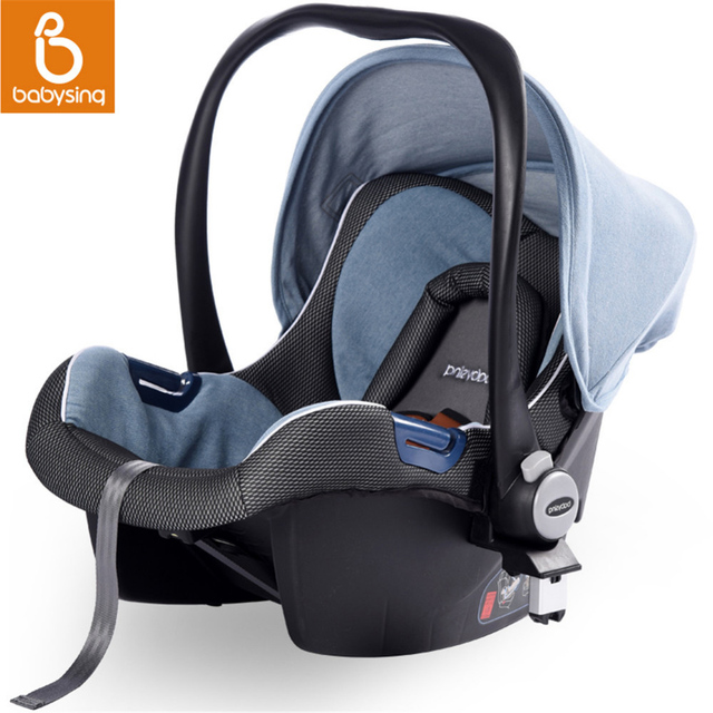 Portable Baby Car Seat 3 In 1 For Newborn Infant Cradle Travel System Safety Basket To