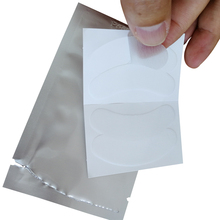 Super Thin gel Eyelash Patch Flexible Lint Gel Under Eye Pad Collagen Hyaluronic eye pads No Sensitive GMP