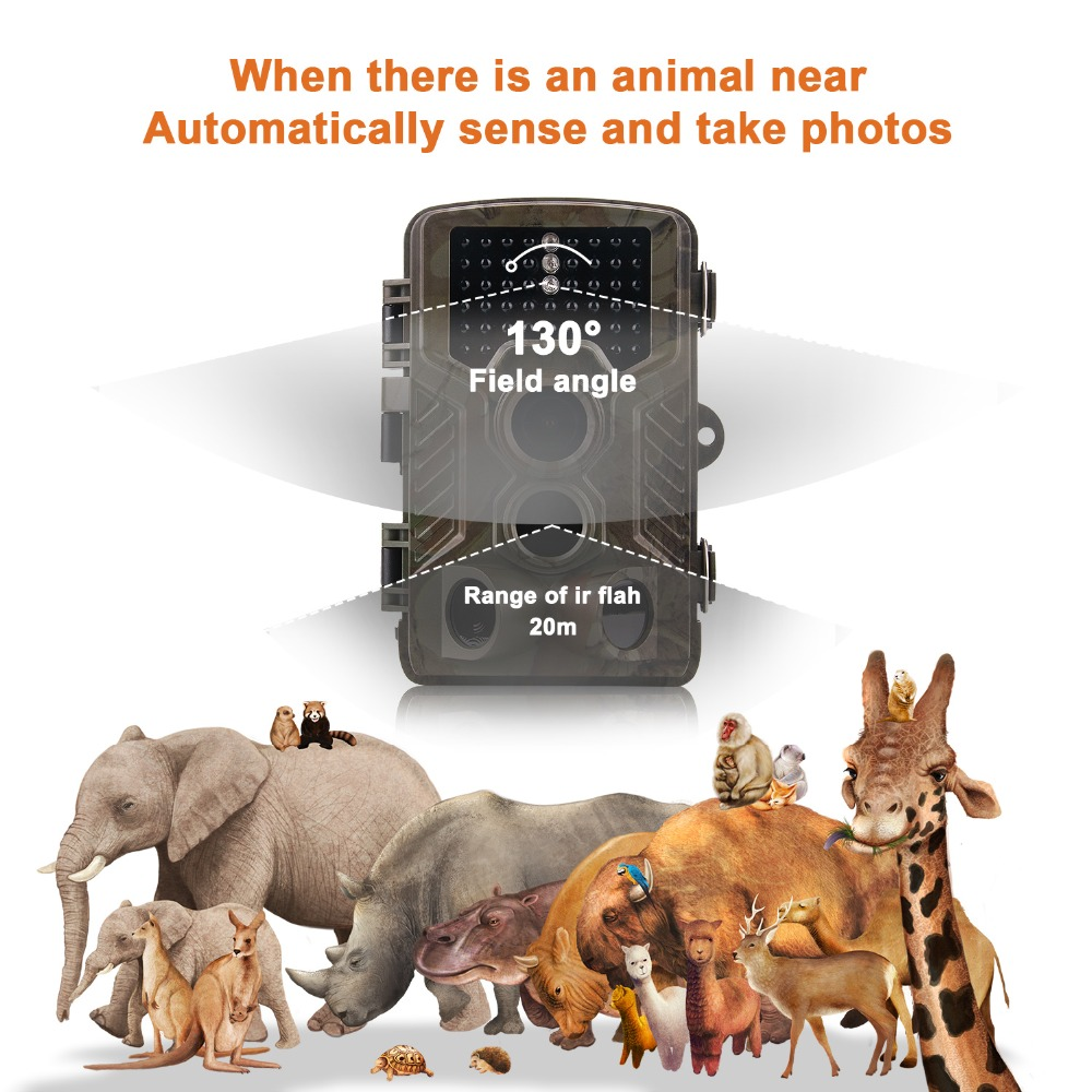 Thermal Hunting Trail Camera MMS GPRS 12MP Night Vision Hunting Camera Photo-traps Chasse HC800M Hunting Wildlife Wild Camera (9)