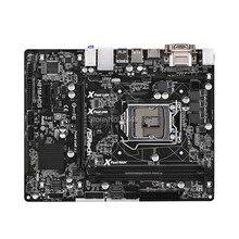 Б/у слот LGA1150 H81 материнская плата для ASRock H81M-HDS системная плата USB3.0 SATA3 DDR3