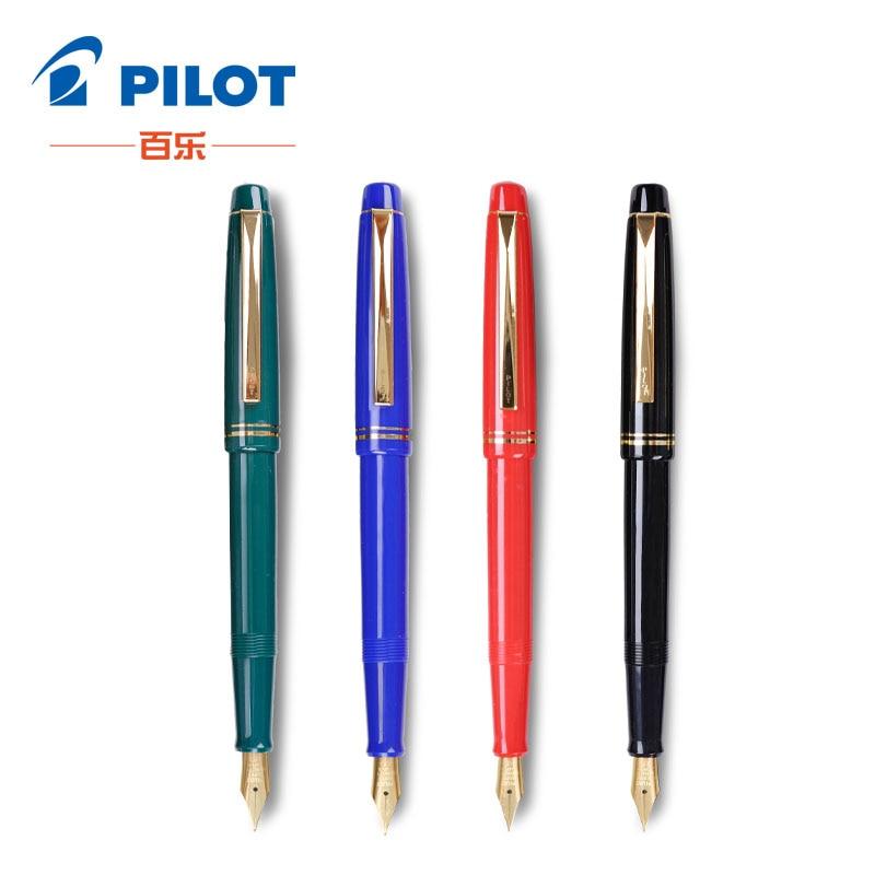 Piloto 78G pluma 5 colores EF F M B punta 22 k Oro Original Iridium pluma fuente para escritura de caligrafía pequeño regalo