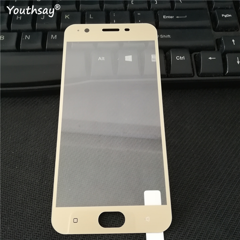 1PCS Screen Protector For OPPO A39 Tempered Glass For OPPO A39 Full Cover Protective Film For OPPO A39 A57 A 39 A 57 Film Glass