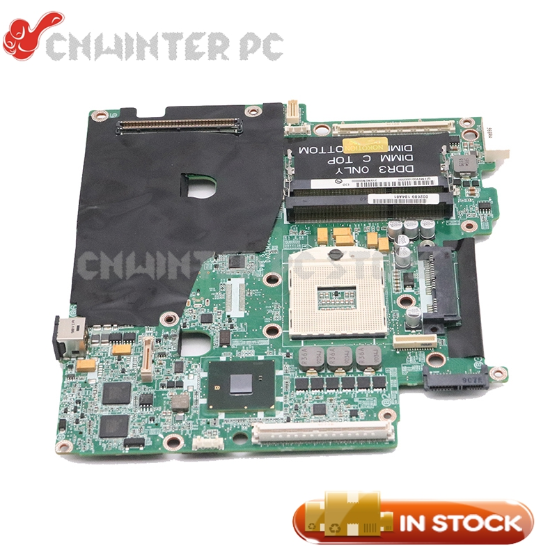 NOKOTION For Dell M6500 Laptop Motherboard DA0XM2MBAG1 CN-0VN3TR 0VN3TR VN3TR MAIN BOARD with 4 Memory SlotsNOKOTION For Dell M6500 Laptop Motherboard DA0XM2MBAG1 CN-0VN3TR 0VN3TR VN3TR MAIN BOARD with 4 Memory Slots