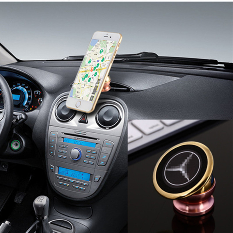 Magnetic automobiles car phone holder stickers for for Mercedes benz phone mount