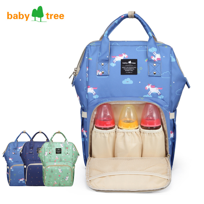 Waterproof Diaper Bag Large Capacity Mummy Maternity Nappy Nursing Backpack Bags