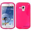Многоцветный Новый Сотовый Телефон Дело S Линии ТПУ Защита для Samsung Galaxy Trend Duos/S7562