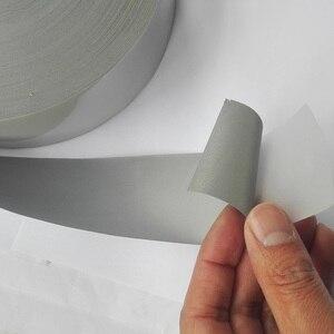 Image 2 - Cinta reflectiva de transferencia de calor para planchar en bolsas para ropa y zapatos, color plateado brillante, 5CM/2,50 CM