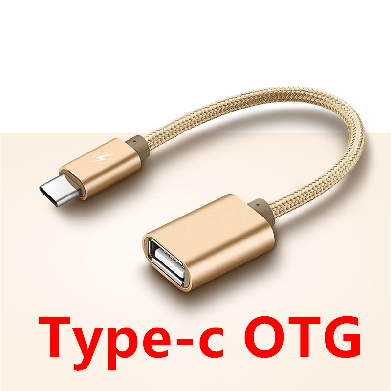 FFFAS 15cm Short Type-C USB OTG Cable Cellphone Game Adapter Gaming Type C OTG Converter For Huawei P10 Xiaomi 6 Macbook Samsung