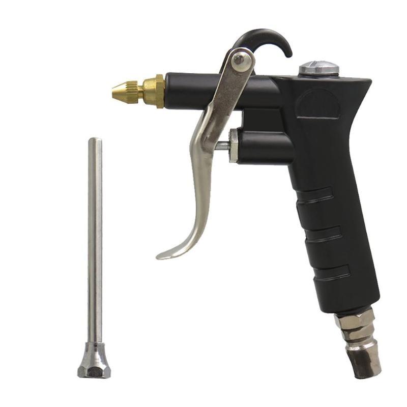 Air Blow Spray Gun Pistol Trigger Cleaner Compressor Dust Blower Nozzle