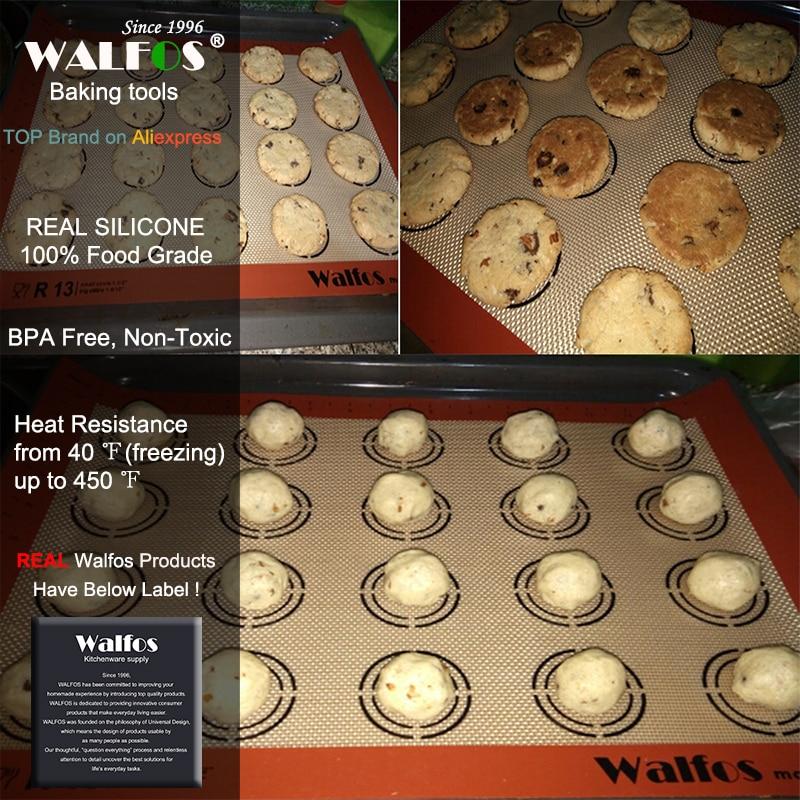 WALFOS Nieprzywierająca Mata Silikonowa Do Pieczenia Pad Blachy - Kuchnia, jadalnia i bar - Zdjęcie 2