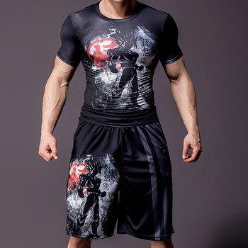 2019 New Dragon Ball Loose Sport Shorts Men Cool Summer Basketball Short Pants Hot Sale Sweatpants No belt 4