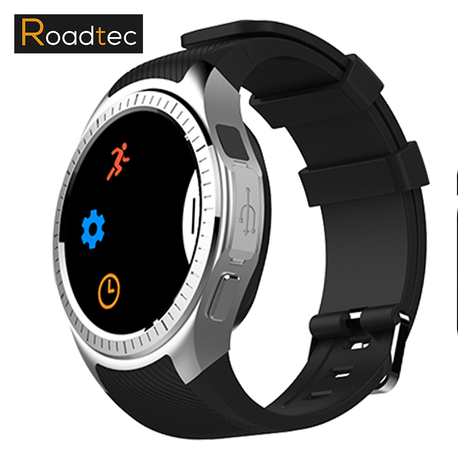 Roadtec Bluetooth Smart Watch GPS tracker Sport Smartwatch Android 3G Watch With Camera Heart Rate Wearable Devices Music Player new curren x4 smart phone watch heart rate step counter stopwatch ultra thin bluetooth wearable devices sport for ios android