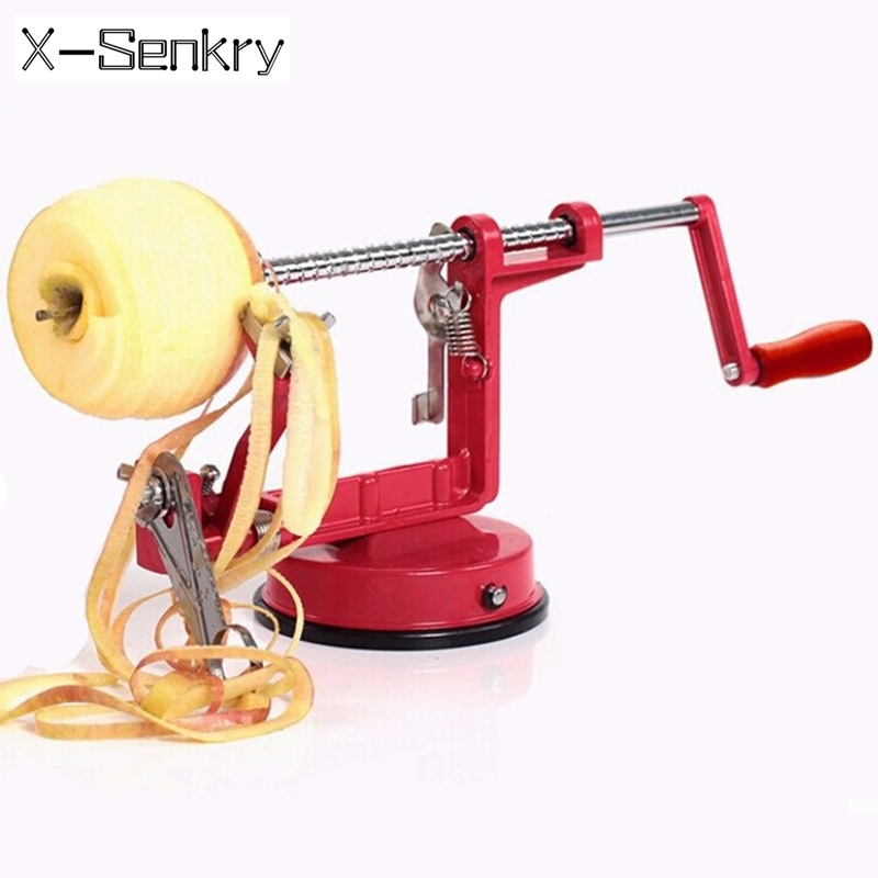 Apple peeler fruit slicing machine / stainless steel apple peeled tool creative kitchen tools