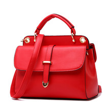Retro Ladies font b Handbag b font Fashion Ladylike Messenger Bag Women Fab PU Leather Shoulder