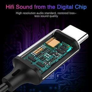 Image 4 - 2020 Langsdom Digitale Type C Oortelefoon Met Microfoon Hifi Bass Headset Voor Samsung In Ear Hoofdtelefoon Voor Auriculare Xiaomi Usb C Telefoon