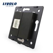 Livolo производитель, черный пластик материалы, ЕС Стандартный, Функция ключ для разъем HDMI, VL-C7-1HD-12