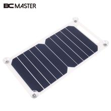 BCMaster 260x140mm 5V 4W Standard Epoxy Solar Panels Mini Solar Cells Polycrystalline Silicon DIY Battery Power Charge Module