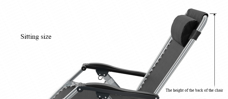 L11 reclinável de aço ajustável de 168