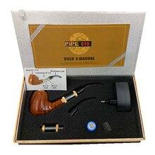 Smok epipe 618 kit de cigarrillo electrónico e tubería 618 vapor madera 2.5 ml Atomizador Con 18350 Batería vs K1000 e tubería tutor