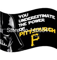 Pittsburgh Pirates War Flag 3ft X 5ft Polyester MLB Pittsburgh Pirates Banner Flying Size No 4