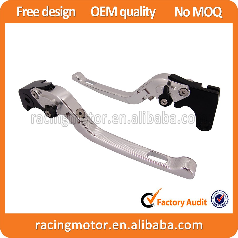 Adjustable CNC 3D Feel Folding Brake Clutch Levers For Hyosung GT650R 2006-2009 billet alu folding adjustable brake clutch levers for motoguzzi griso 850 breva 1100 norge 1200 06 2013 07 08 1200 sport stelvio
