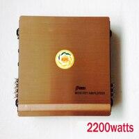 Mejor Clase AB Amplificador DEL COCHE, 2 ch Max. 2200 vatios amplificadores amplificador de audio del coche Activa de Gran Alcance al por mayor