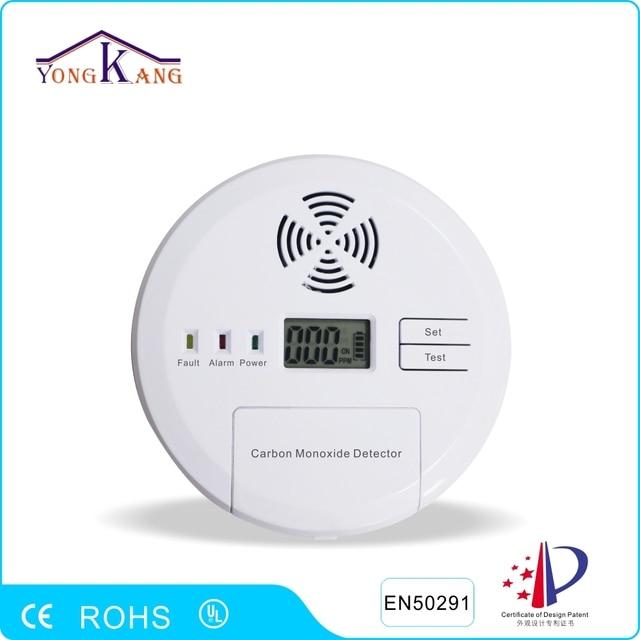 Yongkang LCD Digital Display Carbon Monoxide CO Detector Voice Alarm