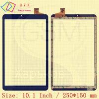 أسود 10.1 بوصة P/N SQ-PG1033-FPC-A1 اللوحي بالسعة اللمس زجاج الشاشة لوحة مرقمة شحن مجاني