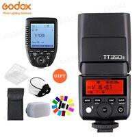 Godox TT350S TT350 GN36 2,4 г ttl HSS мини Вспышка Speedlite + XPro S Беспроводная вспышка триггер комплект для Sony беззеркальная камера